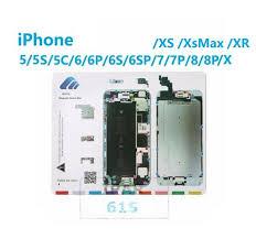 Magnetic Screw Chart Mat Repair Guide Pad For Apple Iphone