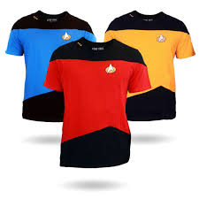 star trek tng uniform t shirt