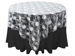 72 x72 extravagant fashionista table overlays