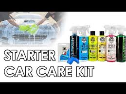 Chemical Guys Detailing Flow Chart Chemical Guys Starter Car Care Kit 7 Items