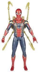 <b>Фигурка Hasbro Spider</b>-<b>man</b> Titan Hero E0608 — купить по ...