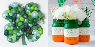 We can do so many things using balloons, as their bright and vibrant colors fill whole ambiance 3. 20 Easy Diy St Patrick S Day Decorations Best Decorating Ideas For St Paddy S Day