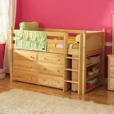 maxtrix kids twin low loft bed with dresser bunk beds kids dresser