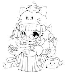 Cute Anime Coloring Pages Respectfulejectco