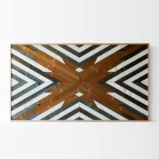 Reclaimed Wood Art Large Reclaimed Wood Art Wall Painting Handmade In Canada Chic