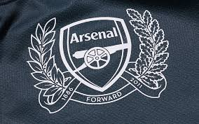 Arsenal logo black and white, hd png download. Hd Wallpaper Black And White Arsenal Forward Textile Background Logo Fabric Wallpaper Flare
