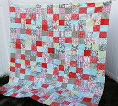 Easy Peasy Fat Quarter Quilt | AllFreeSewing.com & Easy Peasy Fat Quarter Quilt Adamdwight.com
