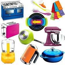 Colorful Kitchen Utensils With 6 Piece Colorful Kitchen Utensil Set
