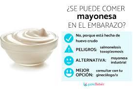 se puede comer mayonesa en el embarazo