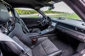 © 2021 porsche cars north america. 2019 Porsche 911 Gt3 Rs Interior Photos Carbuzz