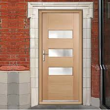oak external doors and frames. stockholm exterior oak door and frame set with frosted double glazing external doors frames t