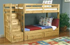 bunk bed plans with stairs post diy bunk beds with stairs and slide