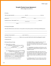 One Page Lease Agreement 8 1 Page Rental Agreement Leave Latter