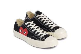 converse comme des garcons. hearts for the comme des garÇons play x converse chuck taylor all-star 70s collection comme garcons n