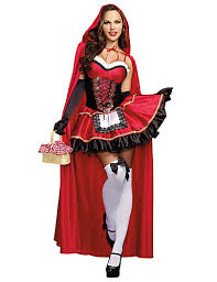 Little Red Riding Hood Cosplay Costume Masquerade Female Halloween Carnival  Festival / Holiday Halloween Costumes Red Others Vintage