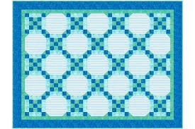 Easy Framed Nine Patch Baby Quilt Pattern &  Adamdwight.com
