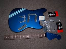 kurt cobain 69 competition build fender mustang discussion jag luckily the pickguard was already loaded and the only wiring i had to do was er the jack