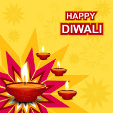 A Drawing Chart On Diwali Festival Free Vector Download