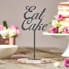 Eat Cake Table Decoration