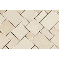 Versailles Tile Pattern Interesting Crema Marfil Polished Marble Mini Versailles Pattern Mosaic Tile