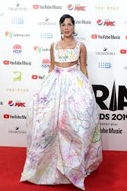 Rainbow Dress at the 2019 ARIA Awards ...