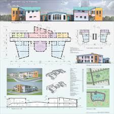 Институт архитектуры и дизайна Портфолио Детский сад на 4 группы Курсовой проект