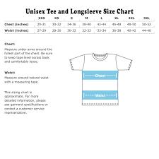 Us Shirt Size Chart Unisex Coolmine Community School
