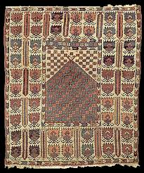 bergama prayer rug early 19th century published in the oriental rug review volume 9 no 1