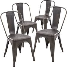 Vintage French Bistro Chairs For Sale
