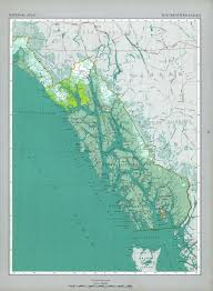 Southeast Alaska Nautical Charts The National Atlas Of The United States Of America Perry