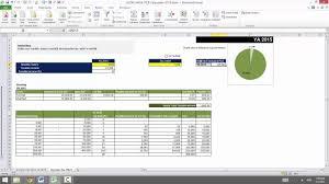 personal finance excel 0715 personal finance pcb calculator ya2015 using excel youtube