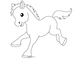 cute baby horses drawing. Simple Baby Baby Horses Coloring Pages Cute Horse    And Cute Baby Horses Drawing S