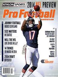 2014 Athlon Sports Nfl Pro Football Magazine Preview