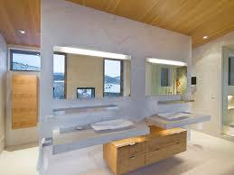 bathroom modern lighting. Minimalist Bathroom Photo In Denver With A Vessel Sink, Flat-panel  Cabinets, Concrete Modern Lighting S