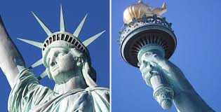 「The original torch of statue of liberty」の画像検索結果