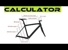 Best Online Bike Fit Calculator How To Choose The Right Bicycle Frame Size
