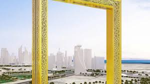 dubai this building is the world s largest picture frame tower photos