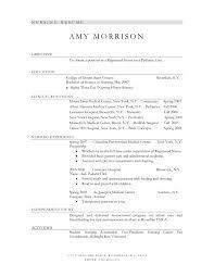 Magnificent Sample Nursing Resume Objectives On Nursing Studentme