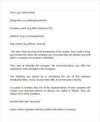 email introduction sample 16 professional email examples samples