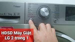 HDSD máy giặt LG 2 trong 1 chế độ chỉ sấy quần áo - YouTube