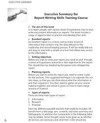 executive summary template best photos of sample executive summary write executive