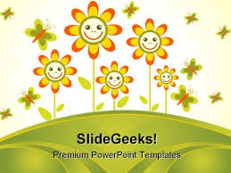 Flowers Frame Beauty Powerpoint Themes And Powerpoint Slides