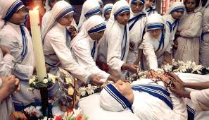 life history of mother teresa less than two years after her death in view of mother teresa s widesp reputation of holiness and the favours being reported pope john paul ii
