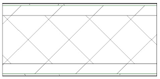 BIM-модель 'Стена внутренняя из гипсокартона толщиной 85 мм ...