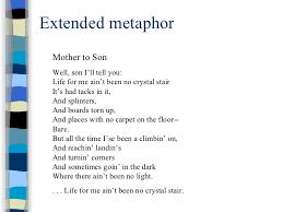 figurative language extended metaphor