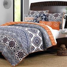 decoration orange and white twin comforter set baby nursery tasty total fab grey bedding sets