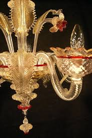 ideas red murano glass chandelier and glass chandelier red gold 97 used chandeliers