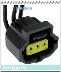 longyue 2pcs for ford 6g alternator connector plug 3 wire crown 3 pin quick disconnect at 3 Wire Harness Connector