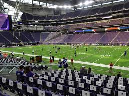 Us Bank Stadium View From Section 129 Vivid Seats