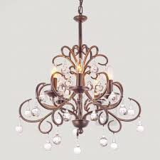 antique crystal chandeliers 5 light brown wrought iron antique metal chandeliers